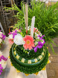 Kratong in Thailand. Kratong for Loy Kratong Festival celebrated in Thailand Royalty Free Stock Images