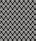 Kratzender Hintergrund des nahtlosen geometrischen Filetarbeitsschwarzweiss-musters vektor abbildung