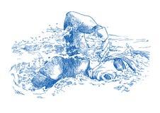 kraul ilustracja wektor
