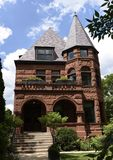 Krause House. This is a Summer picture of the Jacob Gross House located in the Lincoln Park neighborhood of Chicago, Illinois in Cook County.  This three story Stock Photos