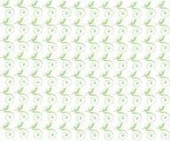 Krausens verdes con las hojas Fotos de archivo libres de regalías