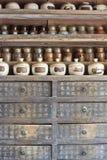 Krautausrüstung des traditionellen Chinesen Lizenzfreies Stockfoto