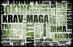 Krav Maga Royalty Free Stock Photography