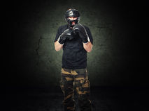 Krav maga fighter Stock Photos