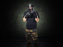 Krav maga fighter Stock Photos