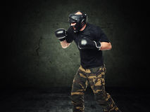 Krav maga fighter Royalty Free Stock Photography