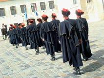 Kravat pułku strażnika zmiana Obraz Royalty Free