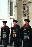 Kravat regiment guard change Royalty Free Stock Photo