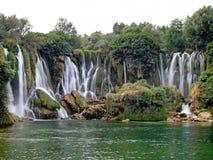 Kravica Wasserfälle Lizenzfreie Stockfotos