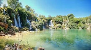 Kravica-Wasserfälle Lizenzfreies Stockbild