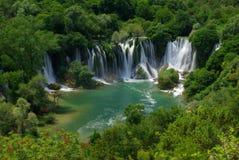 Kravica waterfall Stock Photography
