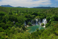 Kravica waterfall Stock Images