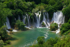 Kravica waterfall Stock Photos