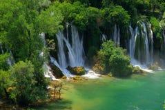 Kravica waterfall Stock Photos