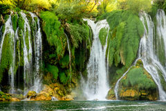 Kravica waterfall Royalty Free Stock Photos