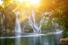 Kravica waterfall Stock Image