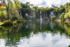 Kravica waterfall (Bosnia and Herzegovina) Stock Image