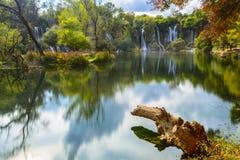 Kravica waterfall (Bosnia and Herzegovina) Stock Photo