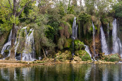 Kravica waterfall (Bosnia and Herzegovina) Royalty Free Stock Image
