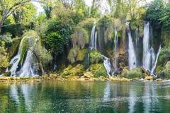 Kravica waterfall (Bosnia and Herzegovina) Stock Images