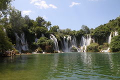 Kravica waterfalls Stock Photography