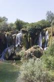 Kravica waterfalls in Bosnia Herzegovina Royalty Free Stock Photos