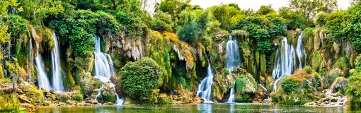 Free Kravica Waterfalls On The Trebizat River In Bosnia And Herzegovina Stock Image - 133366841