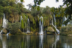 Kravice also Kravica waterfall in Bosnia and Herzegovina - nat Stock Images