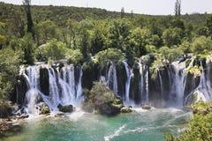 Kravice cade in Ljubuski La Bosnia-Erzegovina immagini stock