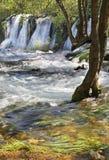 Kravice cade in Ljubuski La Bosnia-Erzegovina fotografie stock libere da diritti