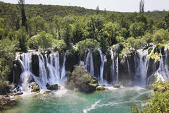 Kravice Falls in Ljubuski. Bosnia and Herzegovina Stock Images