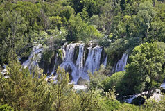 Kravice Falls in Ljubuski. Bosnia and Herzegovina Stock Photos