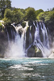 Kravice Falls in Ljubuski. Bosnia and Herzegovina Stock Image