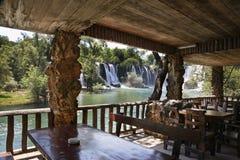 Kravice Falls in Ljubuski. Bosnia and Herzegovina.  royalty free stock photos