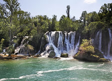 Kravice Falls in Ljubuski. Bosnia and Herzegovina Royalty Free Stock Image