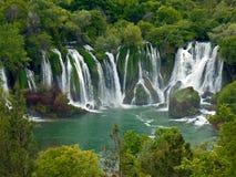 Kravice vattenfall Fotografering för Bildbyråer