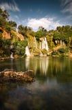 Kravice vattenfall, Bosnien och Hercegovina royaltyfri fotografi