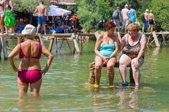 Kravice-Wasserfälle lizenzfreies stockfoto