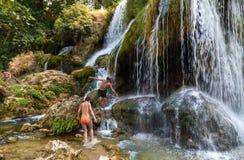 Kravice-Wasserfälle stockfotografie
