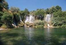Kravice Waterfall, Bosnia and Herzegovina Stock Photography