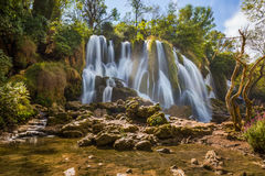 Kravice waterfall in Bosnia and Herzegovina Stock Photos