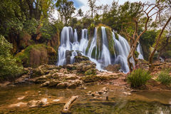 Kravice waterfall in Bosnia and Herzegovina Stock Image