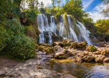 Kravice waterfall in Bosnia and Herzegovina Royalty Free Stock Photos