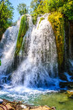 Kravice waterfall on Trebizat River in Bosnia and Herzegovina Royalty Free Stock Photos