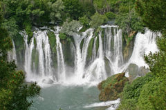 Kravice waterfalls Stock Photo
