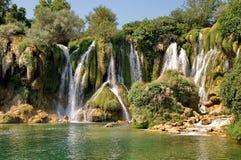 Kravice waterfalls Stock Photography