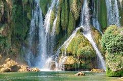 Kravice waterfalls Royalty Free Stock Photography