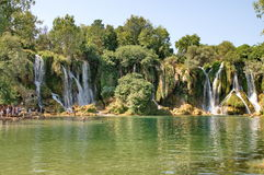 Kravice waterfalls Stock Photos