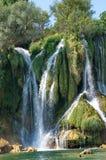 Kravice waterfalls Royalty Free Stock Images