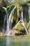 Kravice waterfalls Stock Photo